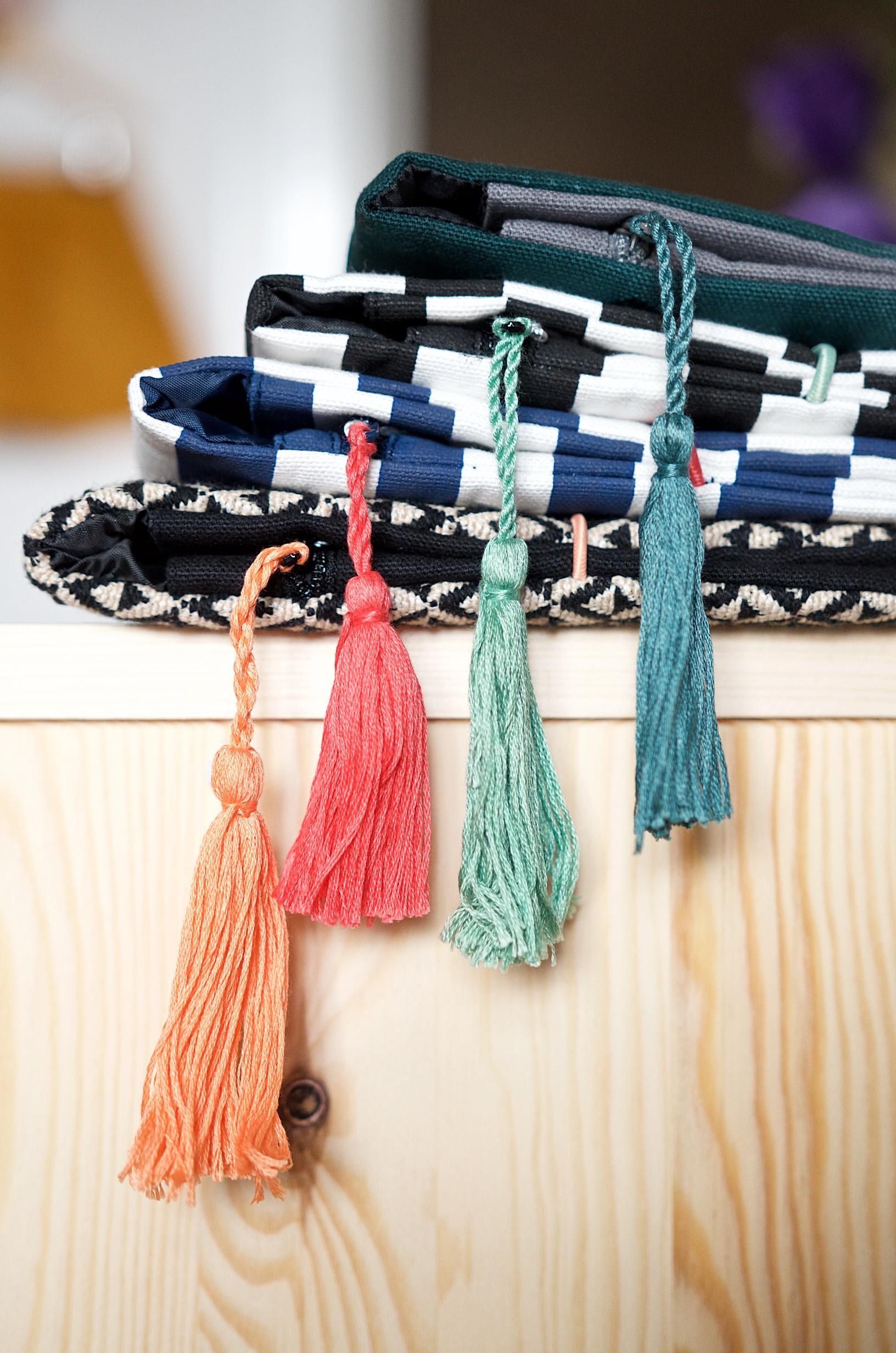 Wickeltaschen und Clutches von Mara Mea im Kinder Concept Store in Hamburg