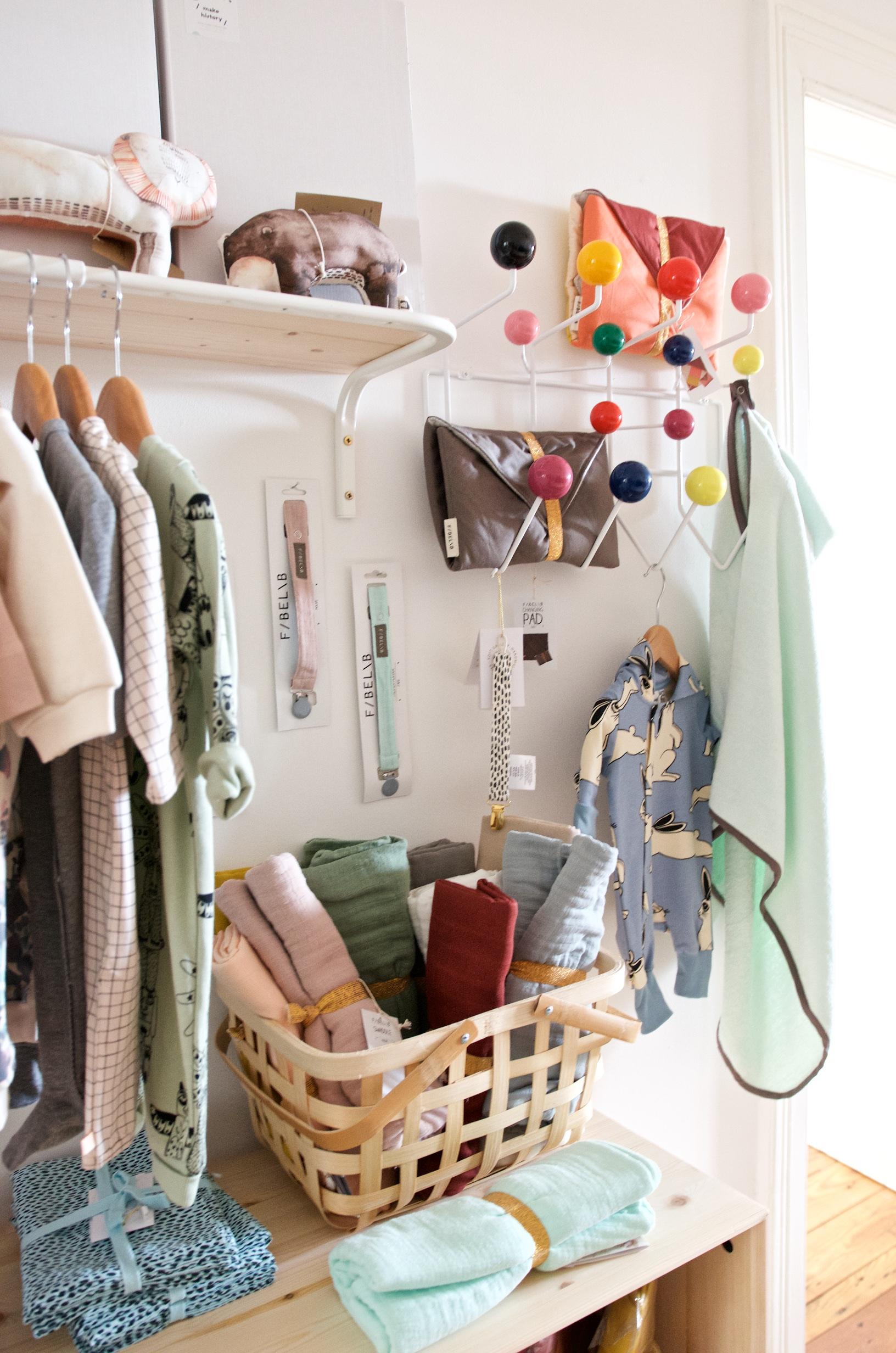 concept Store mit Mini Rodini, Gretas Schwester, Fabelab und Vitra