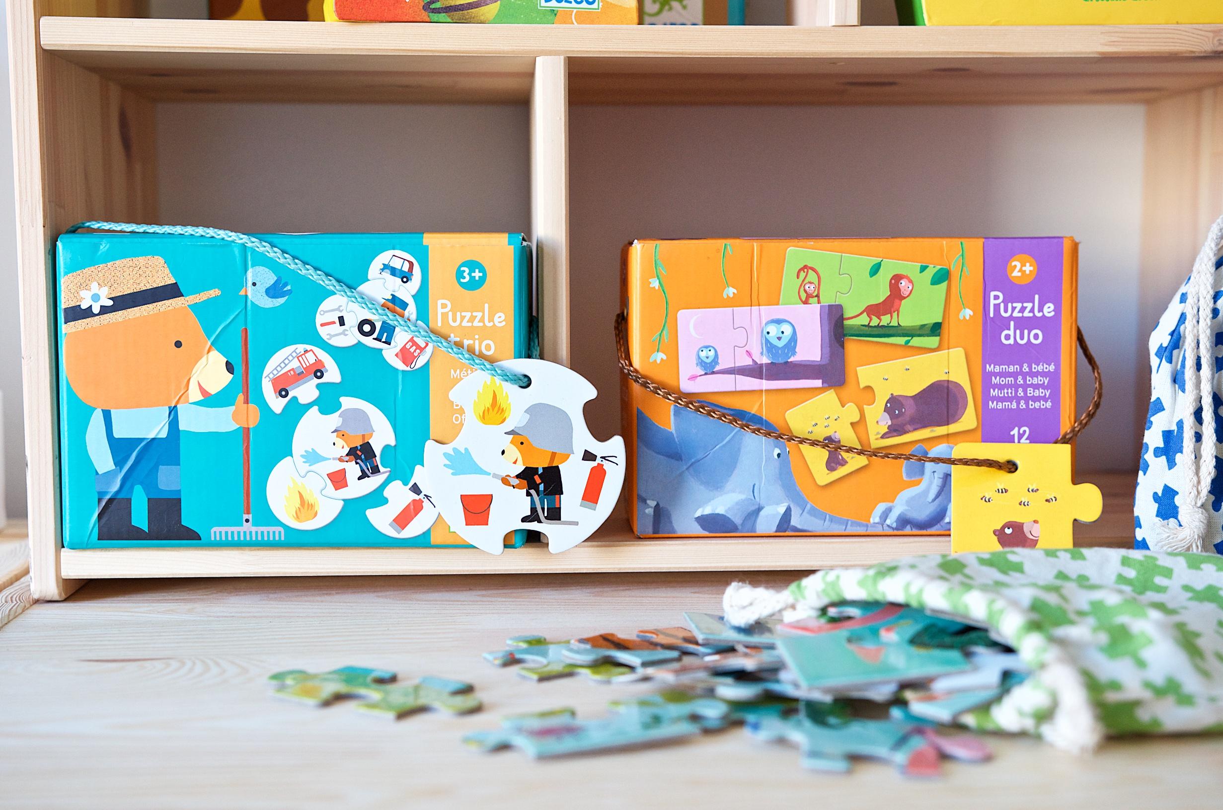 Die schönsten Puzzle für Kleinkinder