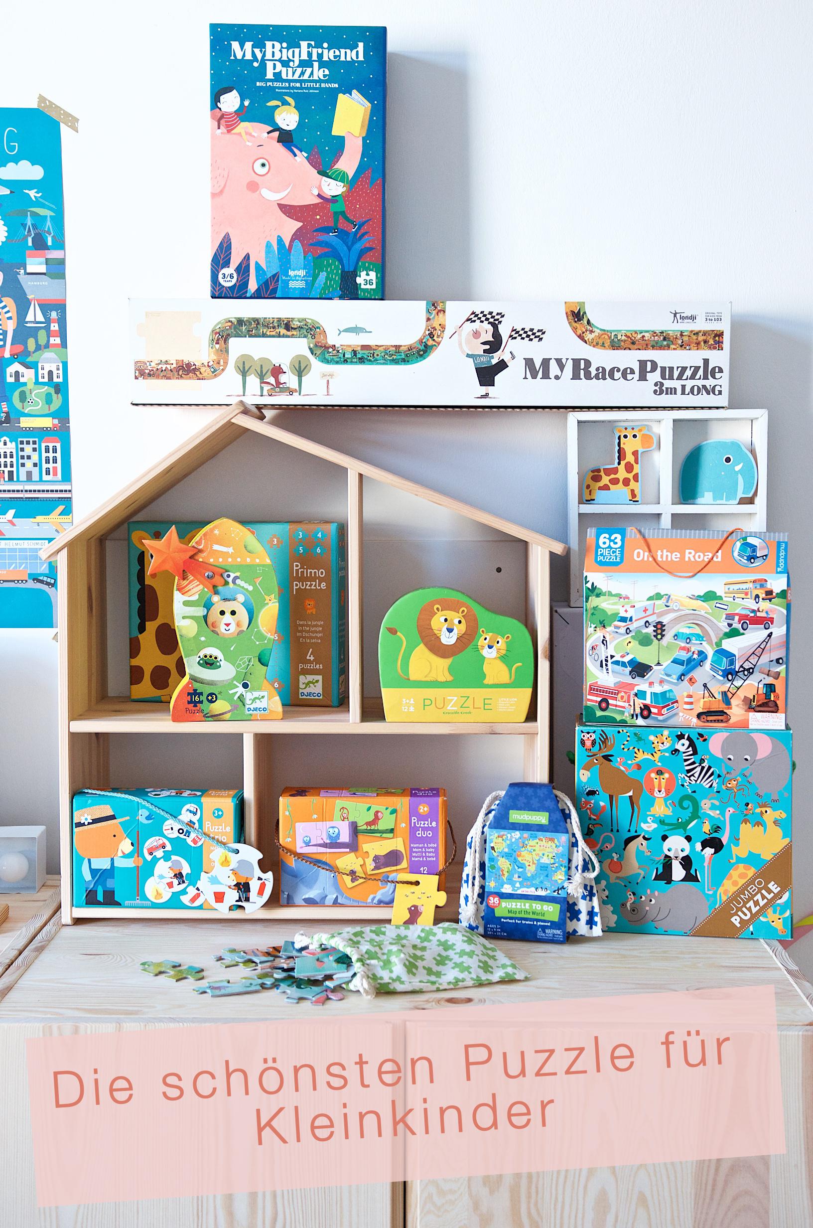 Die schönsten Puzzle für Kleinkinder mit londji, djeco, mudpuppy