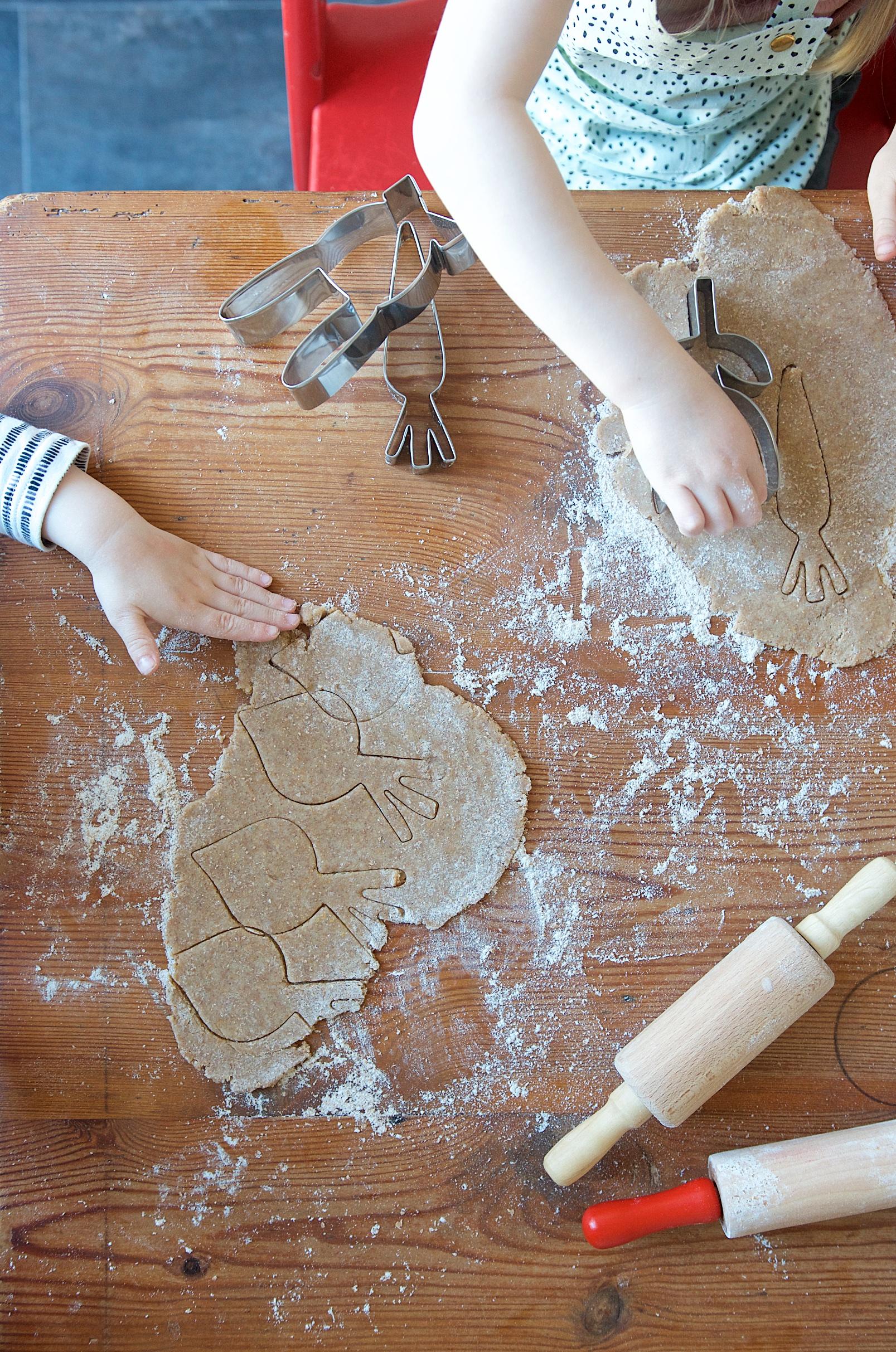 Oster Kekse mit Meri Meri Keksausstechern
