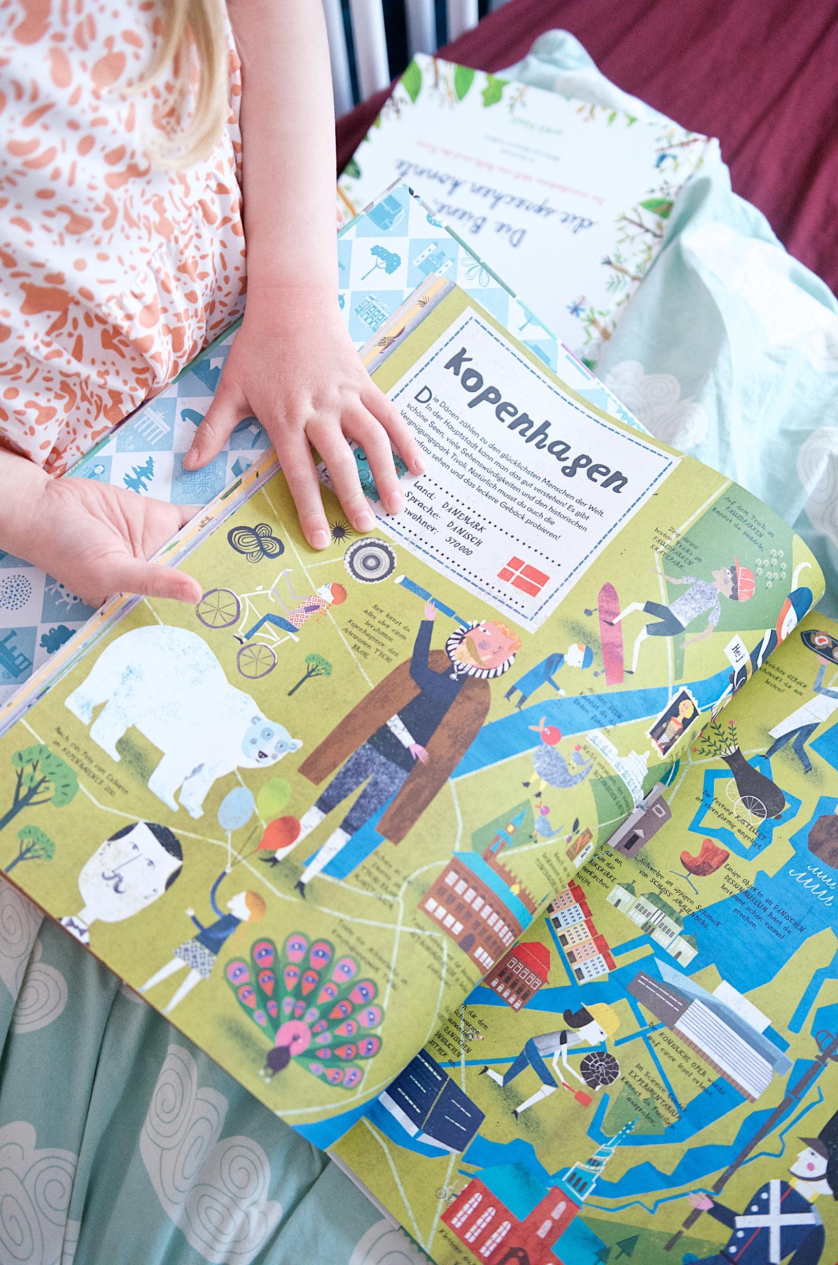 Städte-Atlas für Kinder: Einmal um die Welt