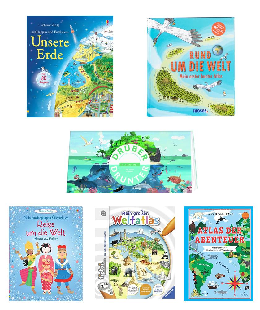 Die schönsten Kinderbücher über die Welt