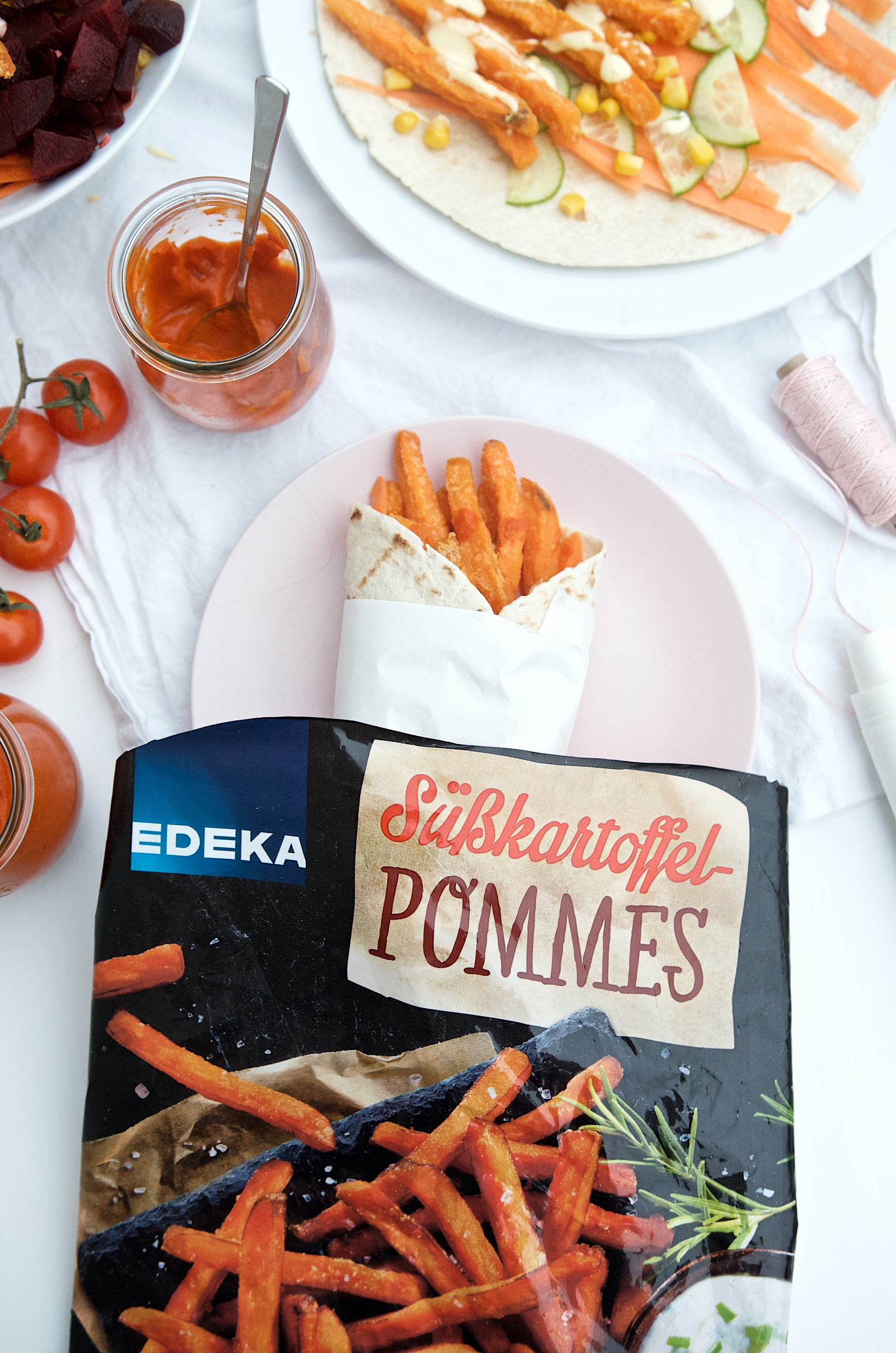 Knusprige Süßkartoffelpommes aus dem Backofen von Edeka | Pinkepank (2)