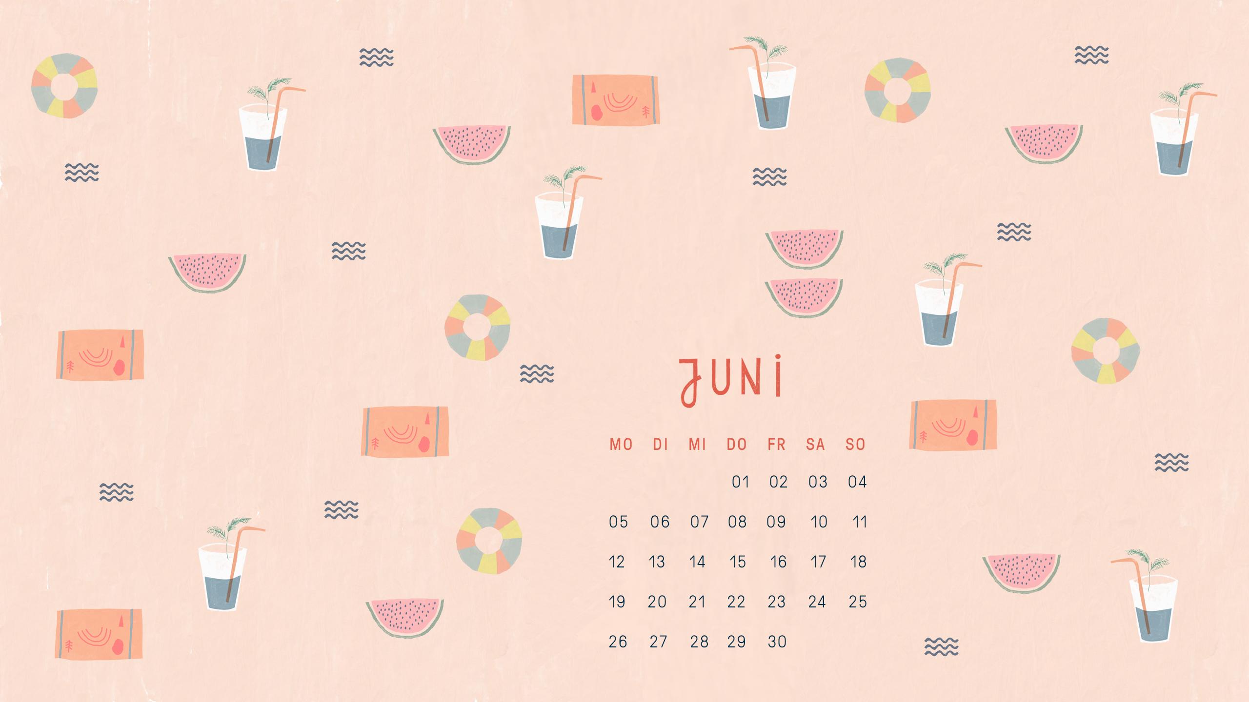 Free Desktop Wallpaper Juni 2017