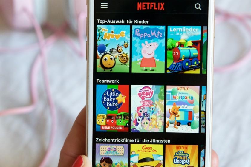 Vorteil von Netflix - die Lieblingsserien immer dabei