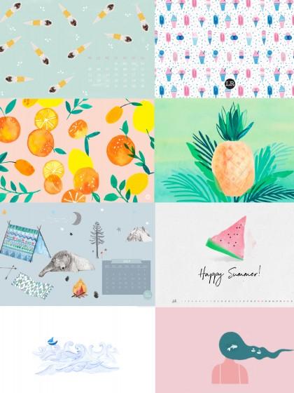 Free Desktop Wallpaper Juli 2017