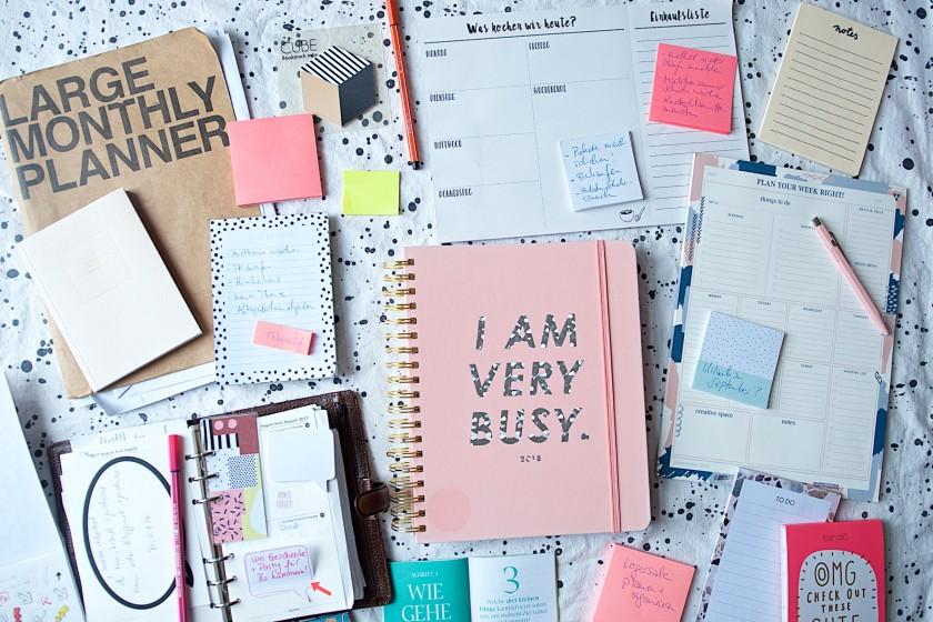 Kalender, Planer, To-Do-Listen, Post-it Zettel Chaos (1)