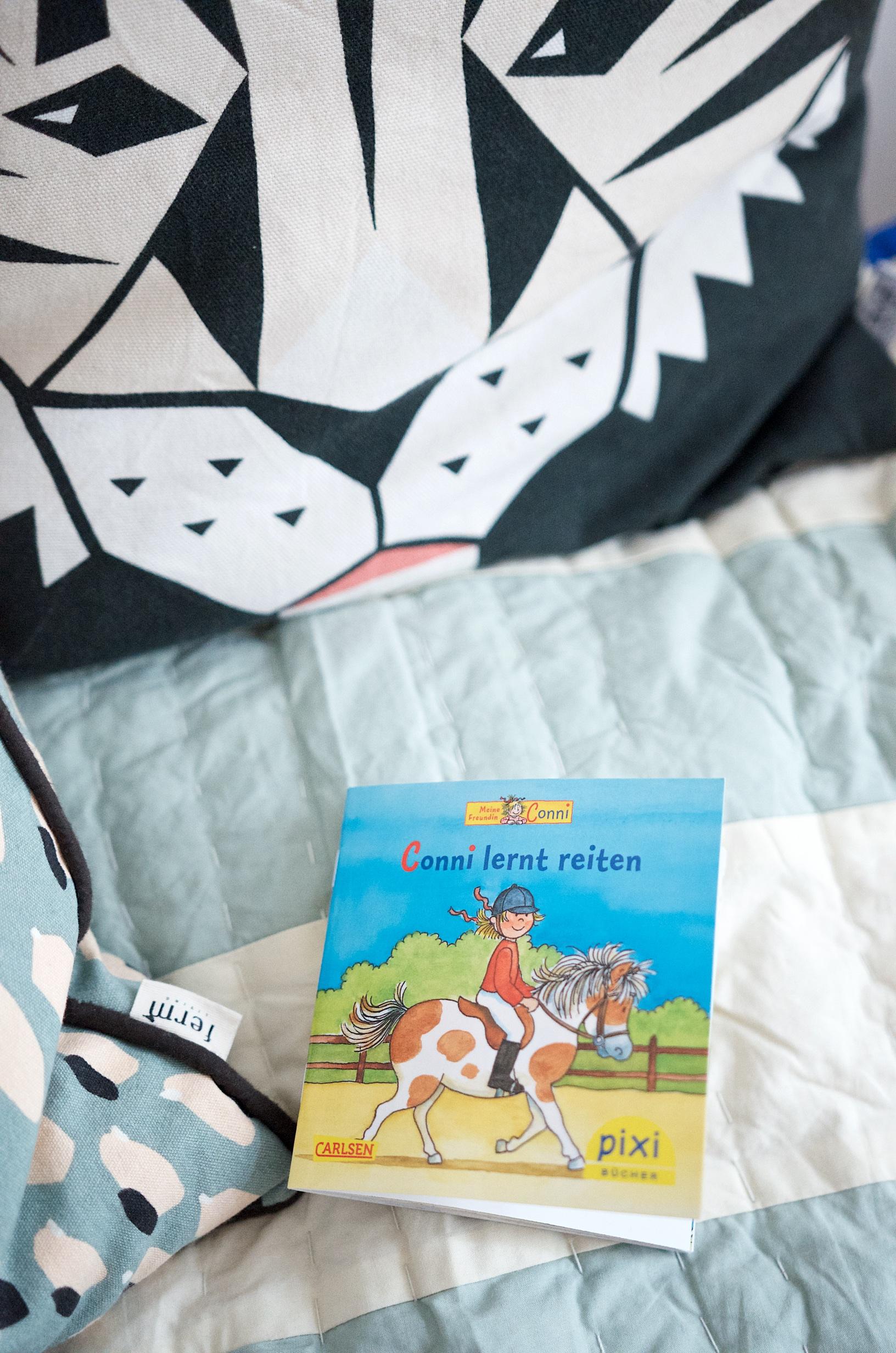 Kinderbuch Conni lernt reiten