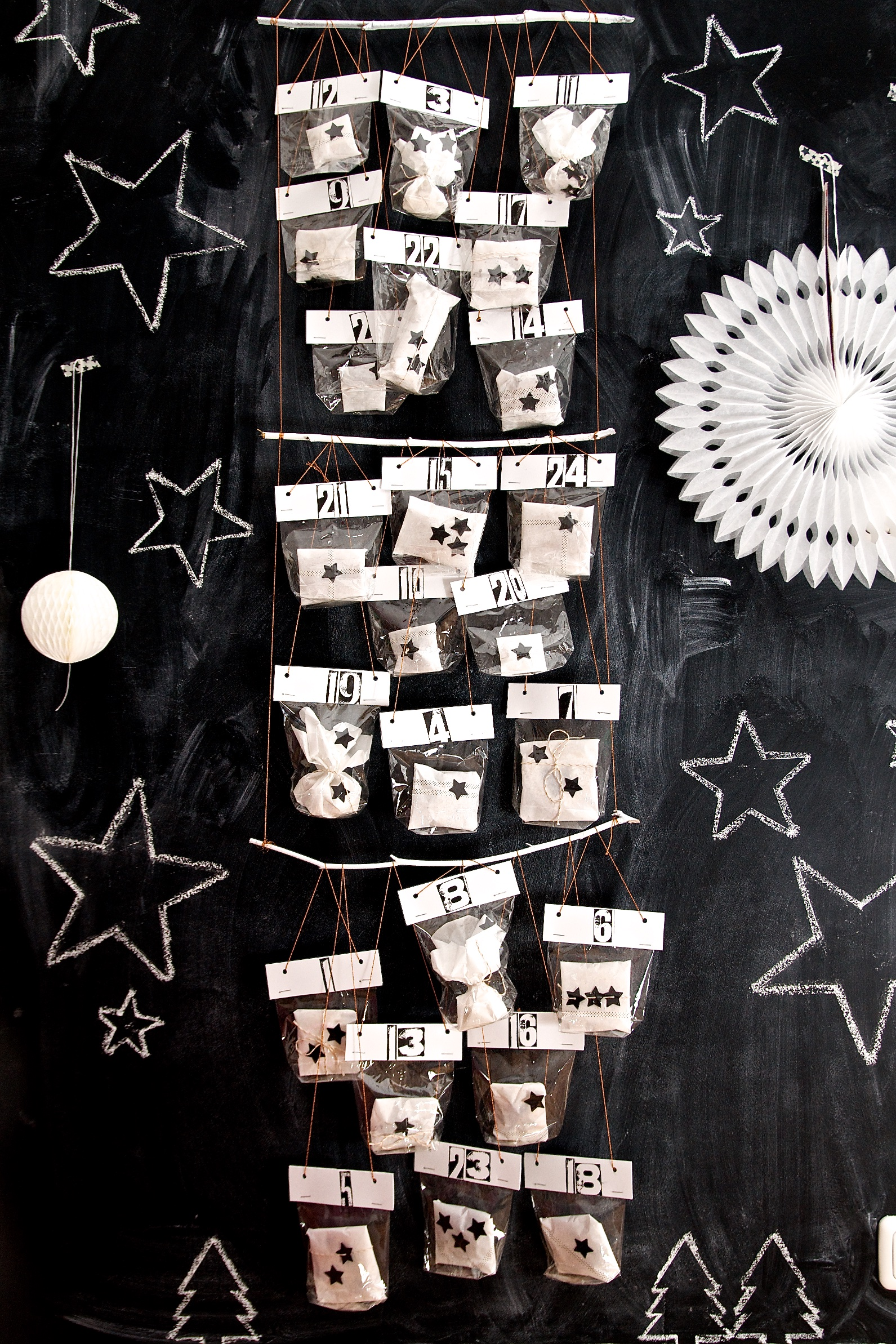 DIY Keks-Adventskalender