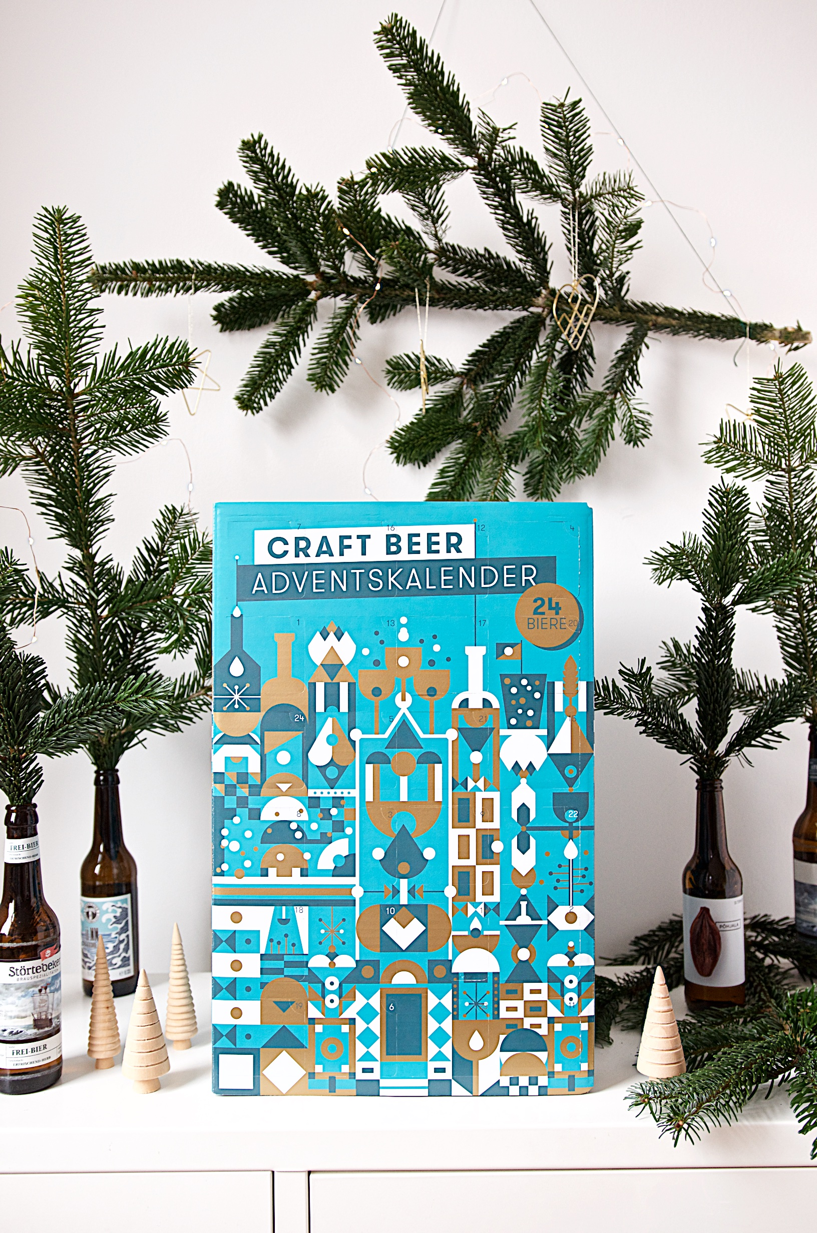 Craft Beer Adventskalender von Beyond Beer | Adventskalender für Männer und Bierliebhaber