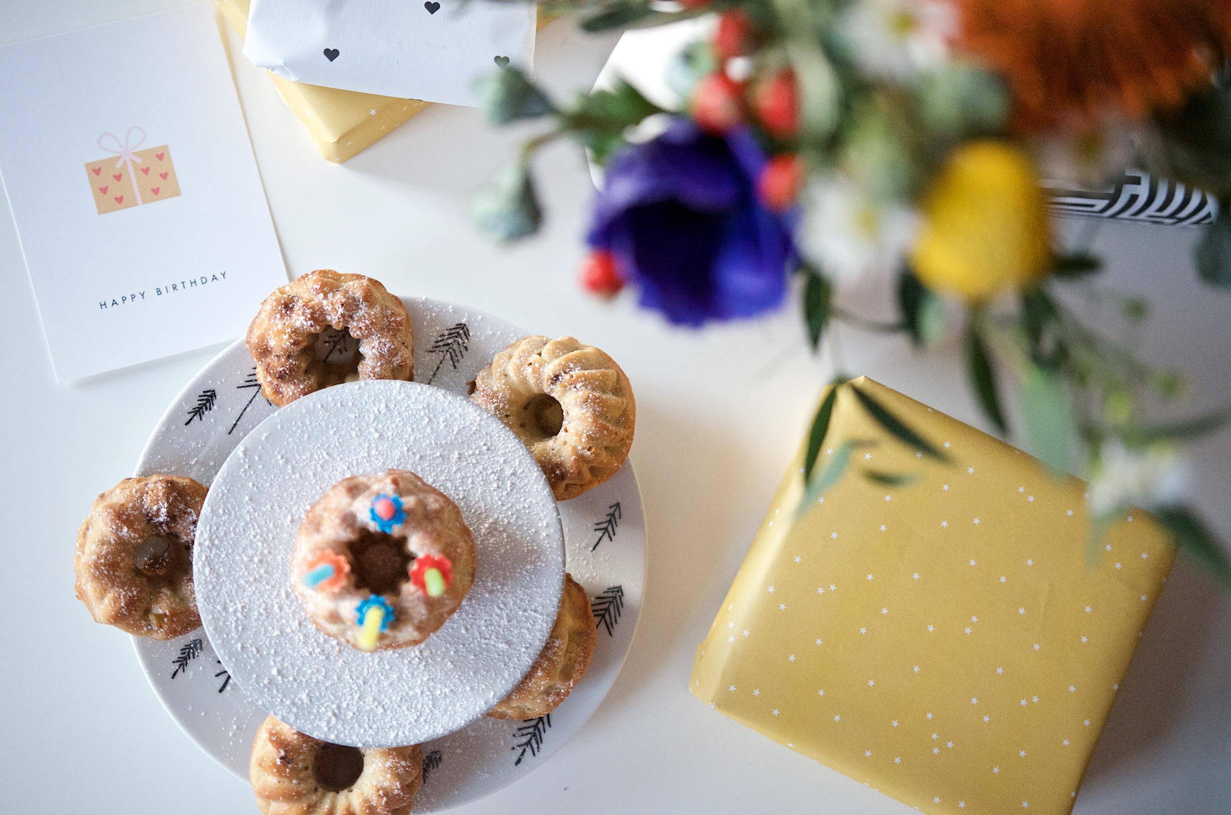 rezept f r apfel zimt muffins mit karamellisierten waln ssen und inspiration f r geschenke f r. Black Bedroom Furniture Sets. Home Design Ideas