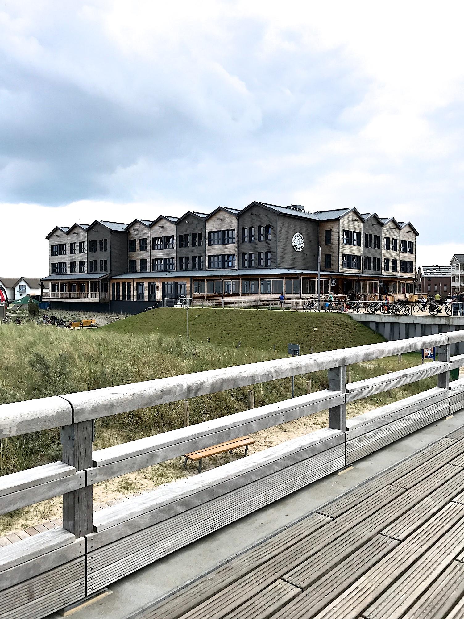 Urlaub an der Ostsee - in der Bretterbude in Heiligenhafen