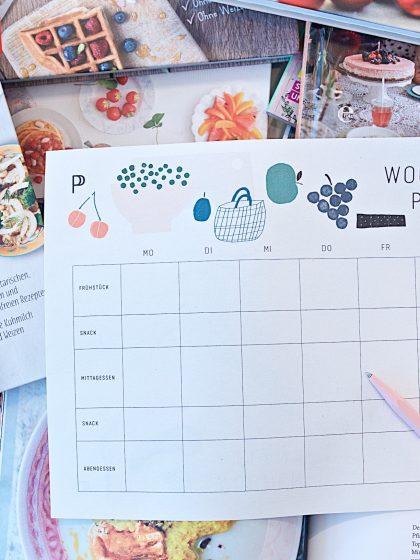 Wochenplan Essensplan Free Printable (6)