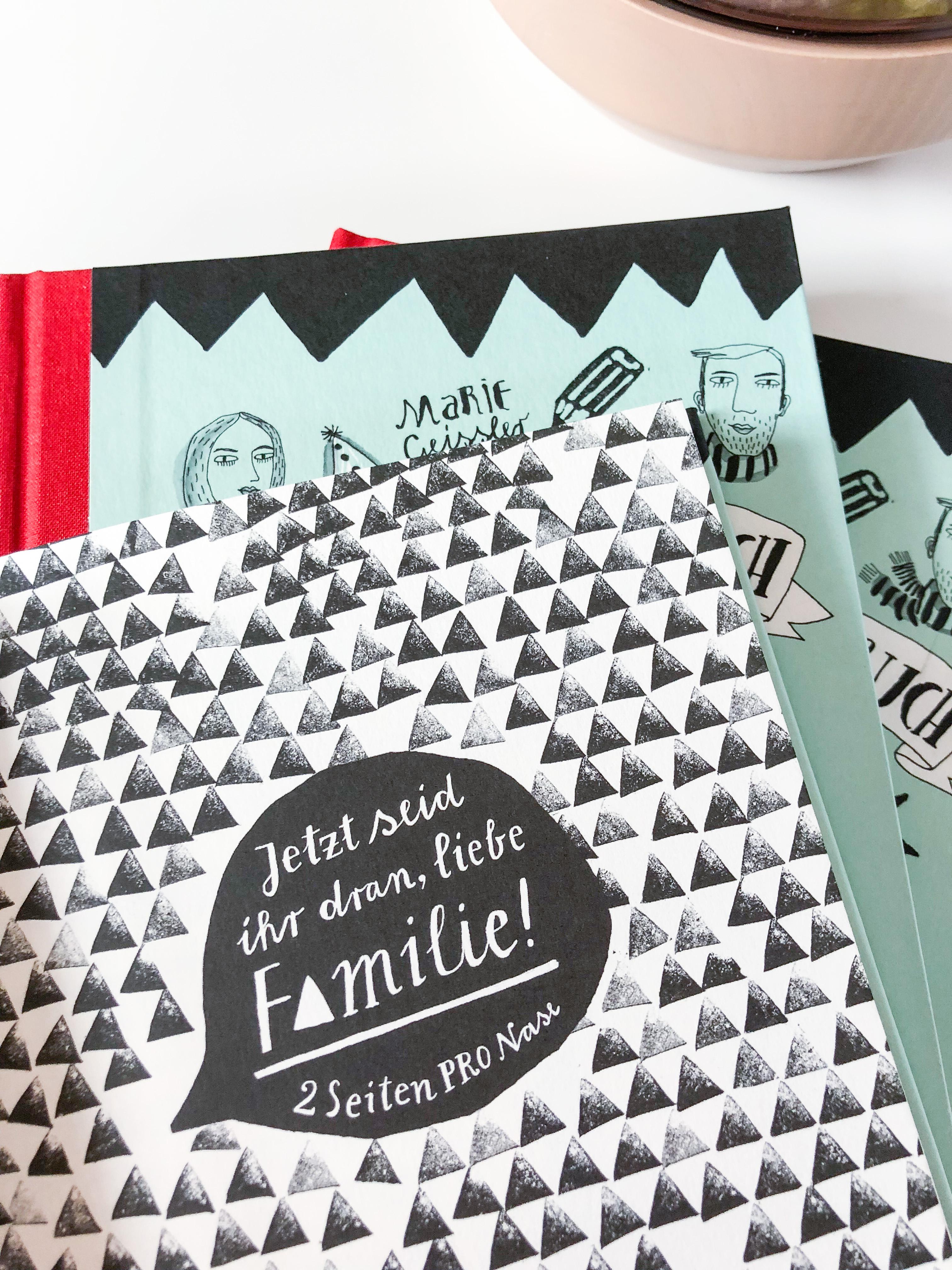 Mein Familienbuch - ein Freundebuch für die Familie.