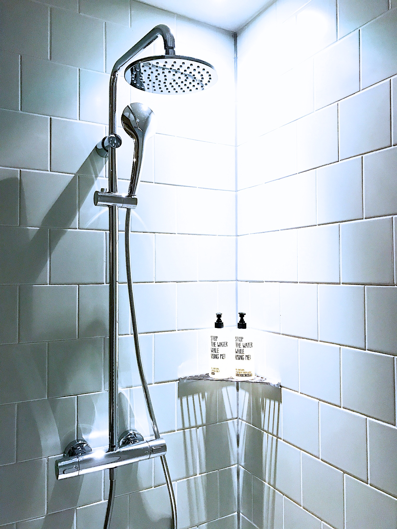 1000 Fragen zu mir selbst - Selbstfindung und Selbstfürsorge im Mama-Alltag. Die Dusche als Wellness-Ort