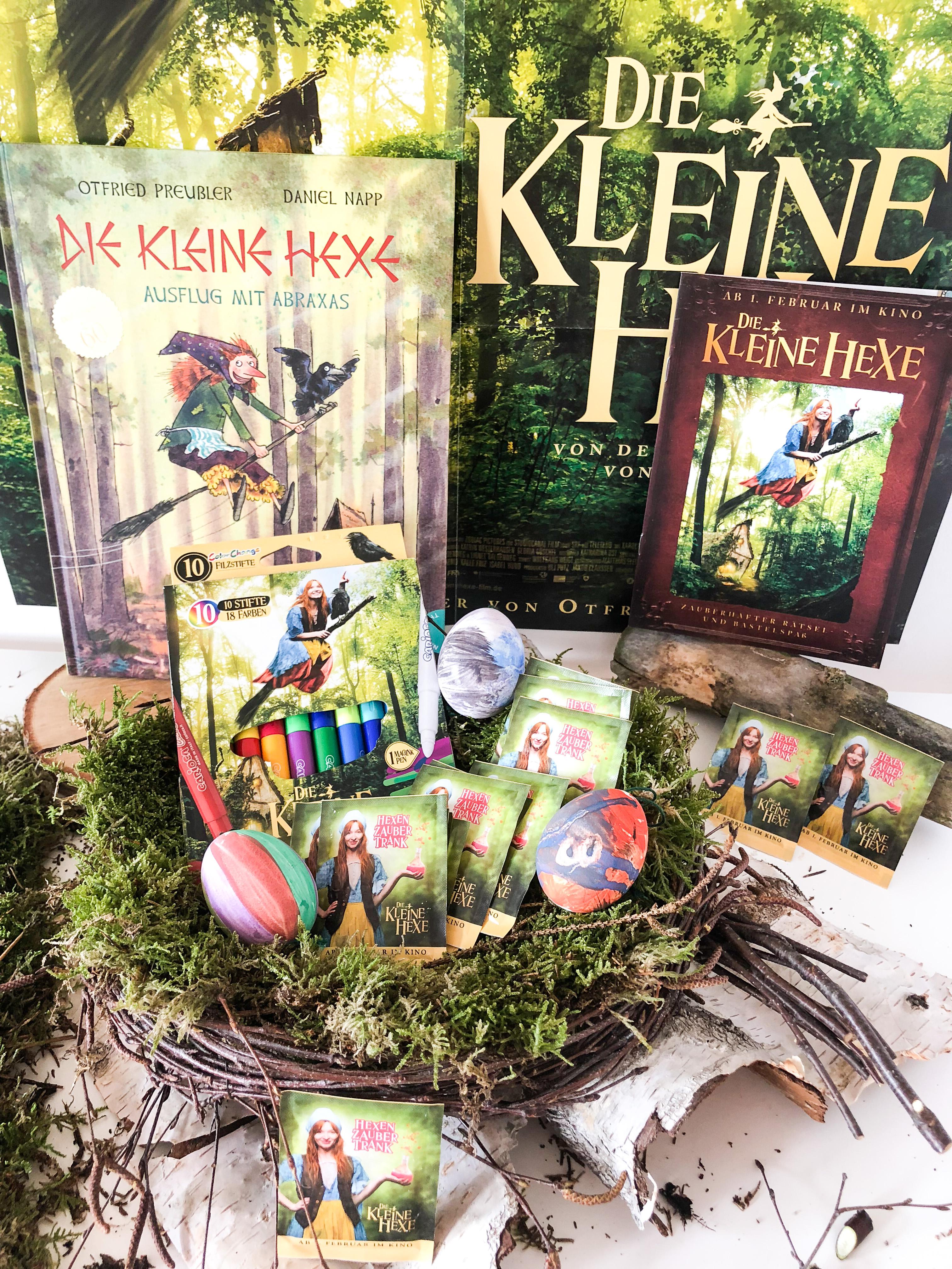 DIY Osternest aus Wald Materialien und Osterverlosung Die Kleine Hexe
