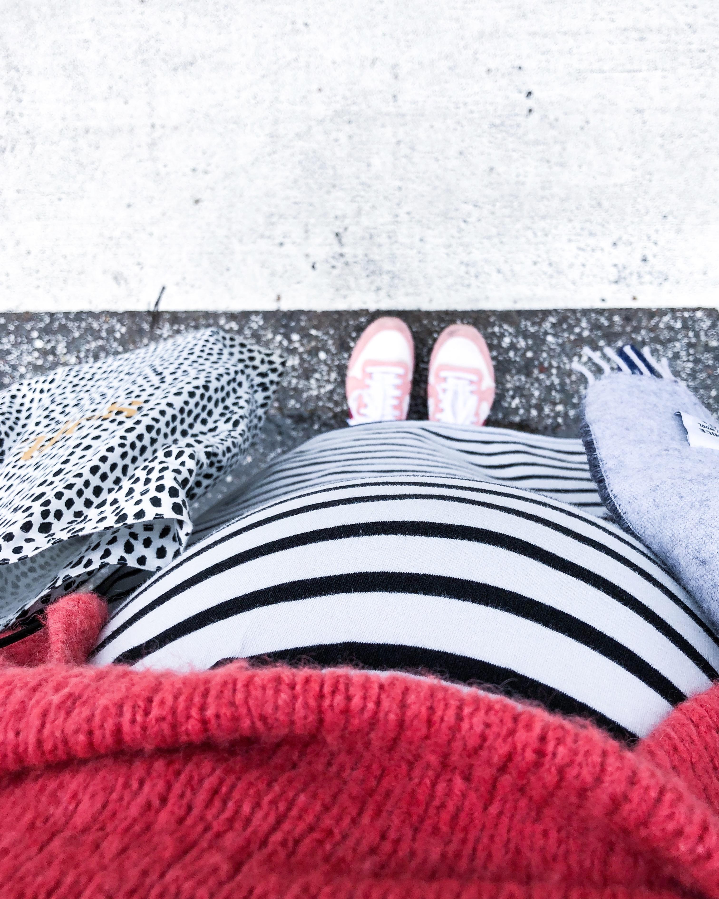 Baby Bump Update und der Geburtsbericht zu Geburt Nr. 2