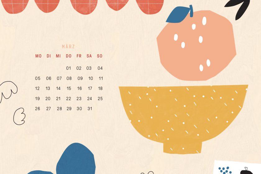 Free Desktop Wallpaper März 2018