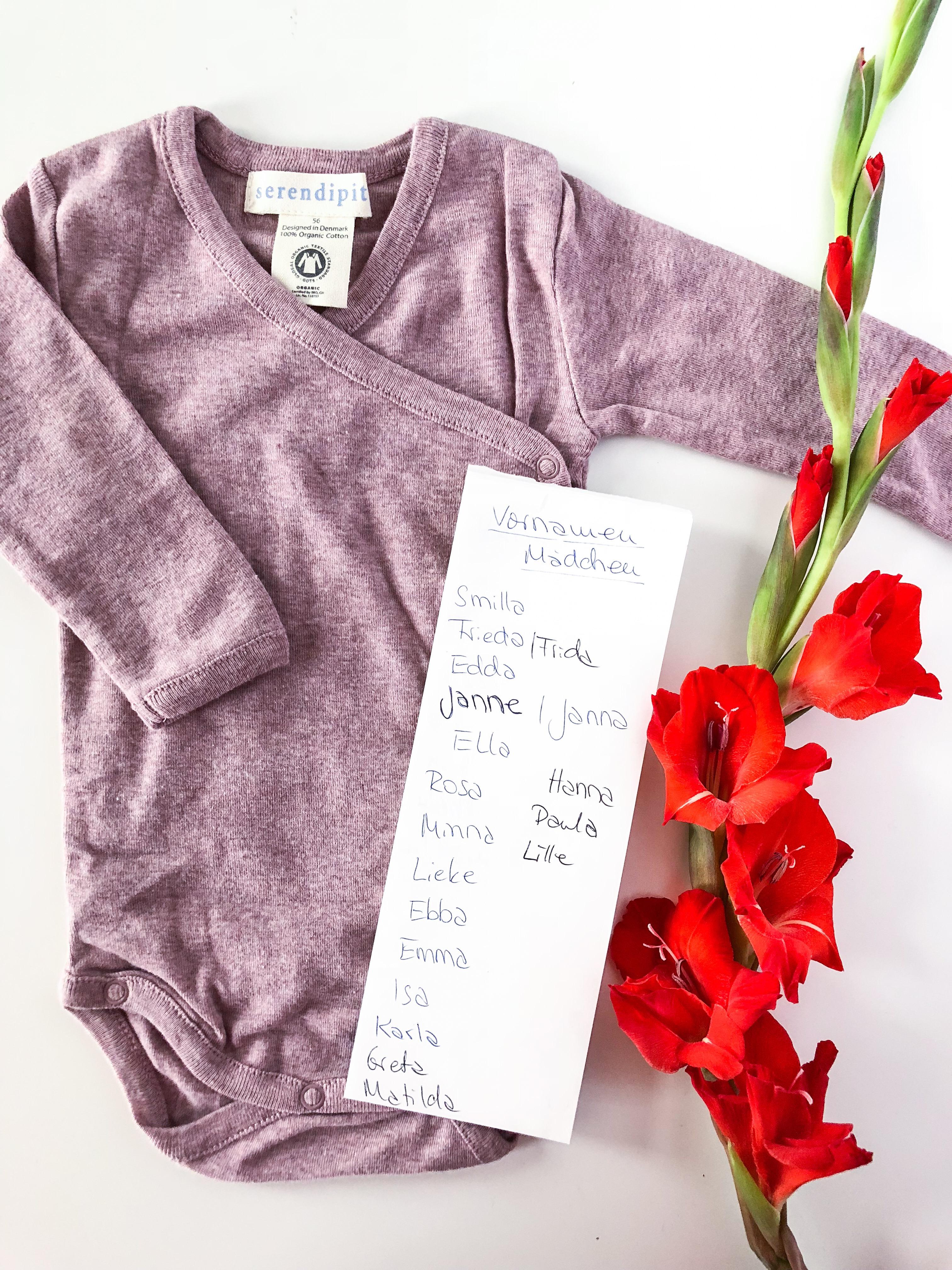 Ein Name für's Baby - Schwangerschafts-Update 28. - 31. SSW