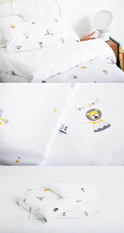Kinderbettwäsche Nichts als Zirkus von glyk