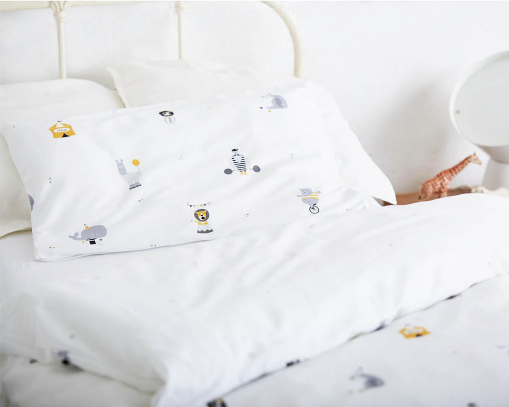 Richtig schöne Kinderbettwäsche, nachhaltig produziert und Oeko-Tex® zertifiziert vom Hamburger Label glyk