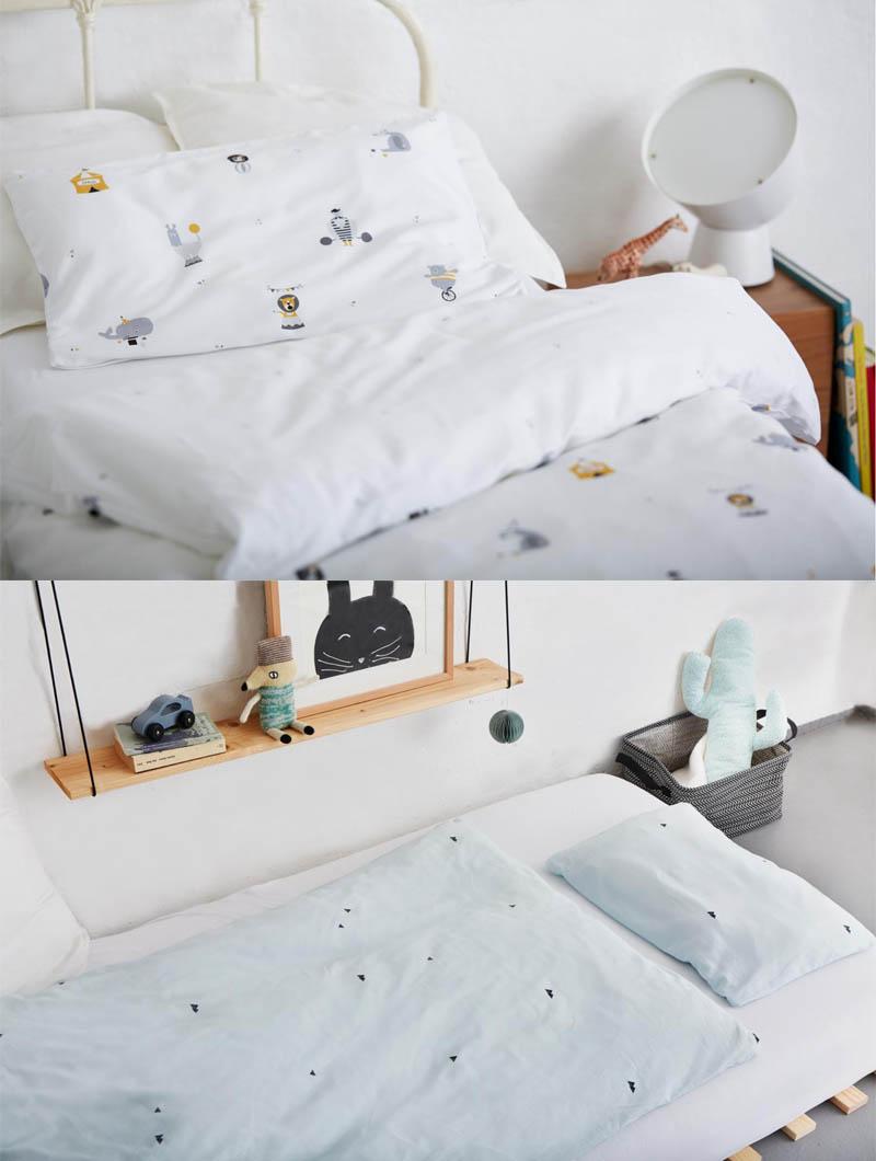 Schöne Bettwäsche für Kinder von Glyk Öko-Tex