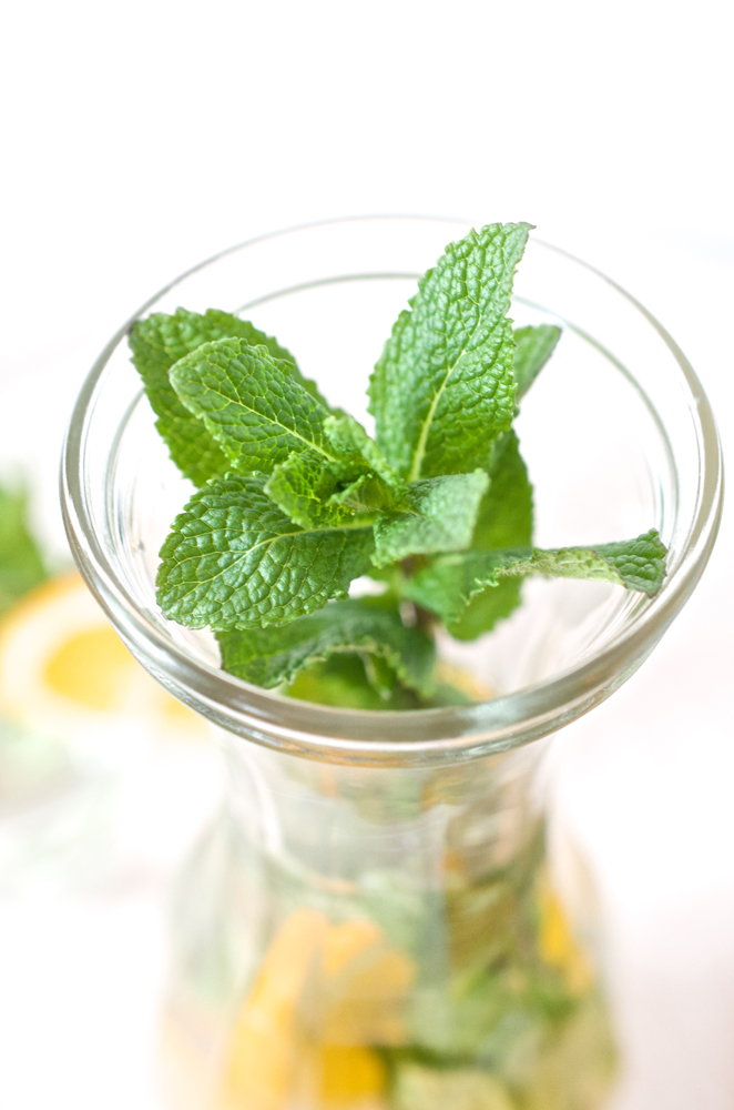 Infused Water oder Vitamin Booster für Schwangerschaft und Erkältungszeit