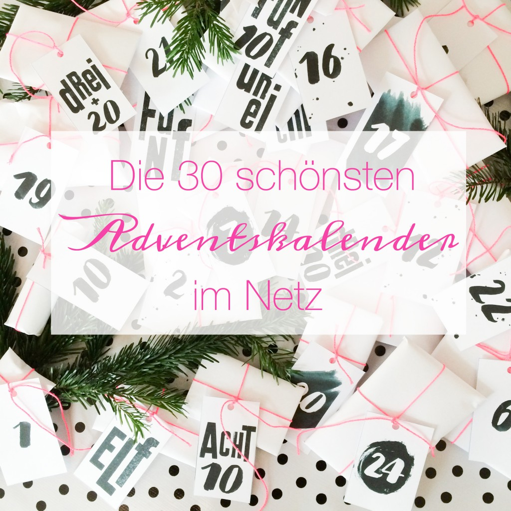 die sch nsten adventskalender im netz pinkepank. Black Bedroom Furniture Sets. Home Design Ideas