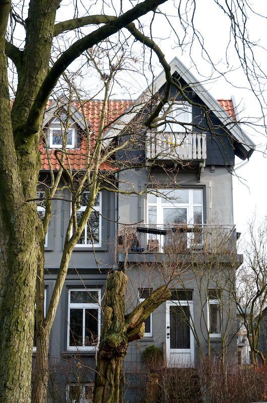 Der Traum vom Haus oder Von der Bedeutung des Wohnens. Villa in Hamburg