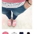 Outfit für den Frühling mit Pünktchen, Rosa und Arizona | PinkepankStyle