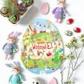 Das große Wimmel-Ei - Osterbuch für Kinder