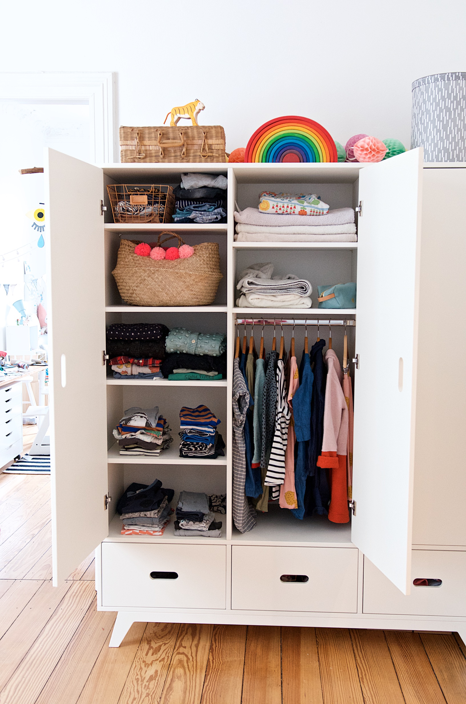 Baby Kleiderschrank Organisieren