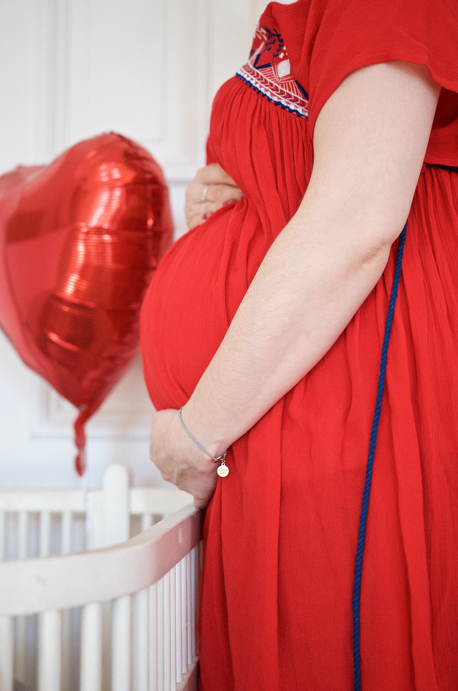Baby Bump Update 21.SSW im Sommerkleid von Mara Mea und die Frage nach der Hebamme