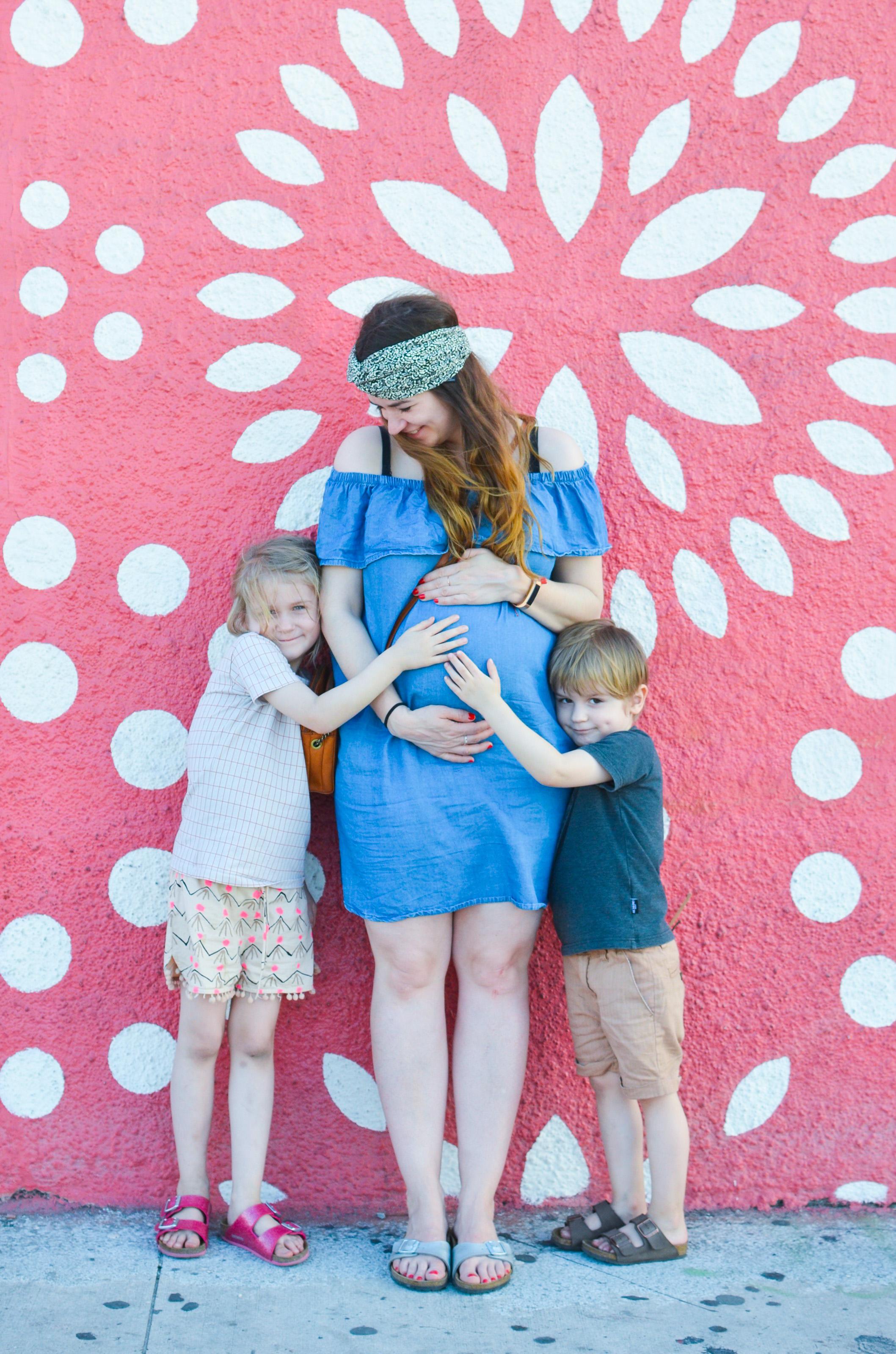 Geschwistergedanken und Baby Bump Update 23. SSW