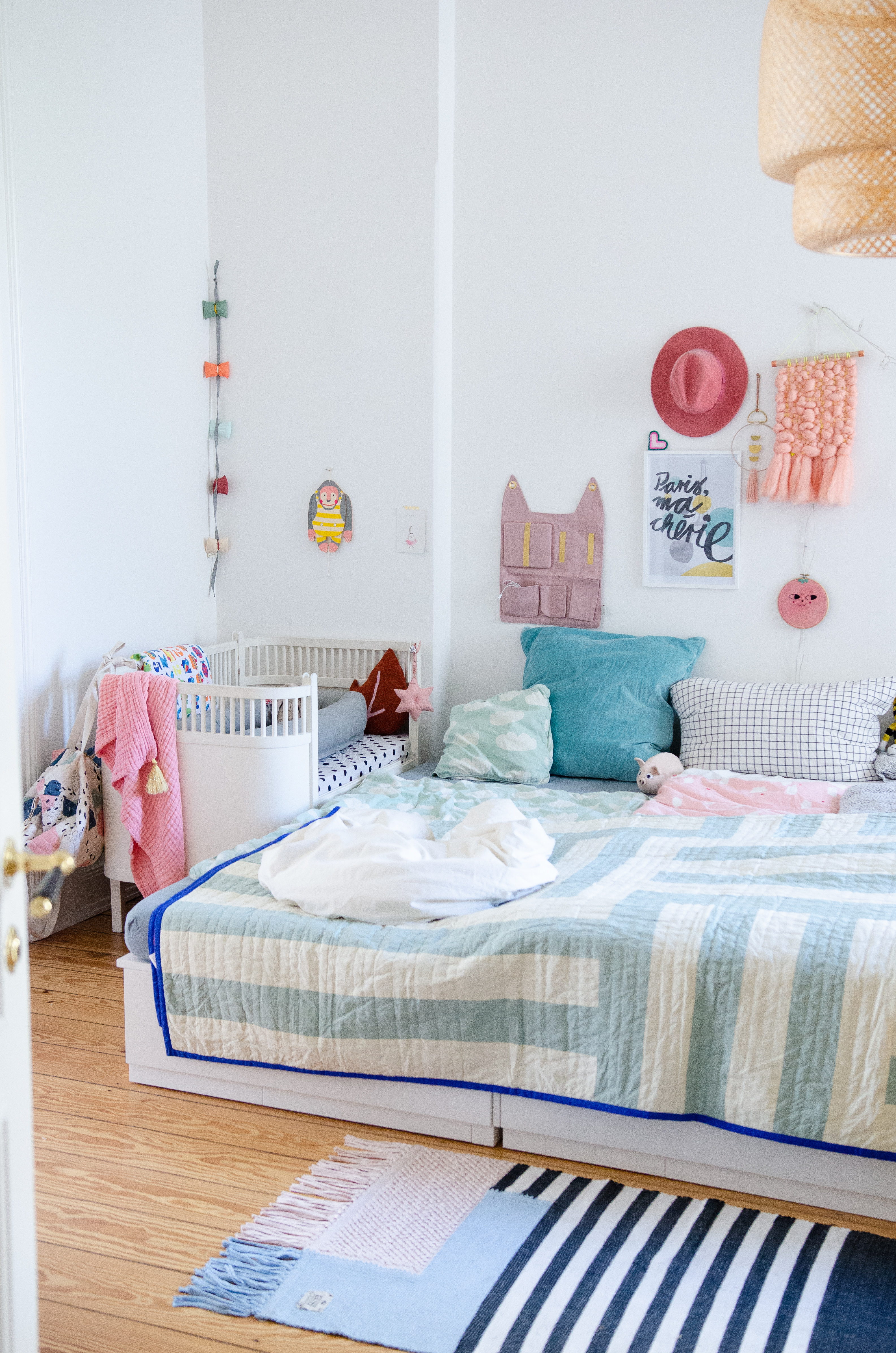 Unser Familienbett - schnell und einach aus zwei Ikea-Betten