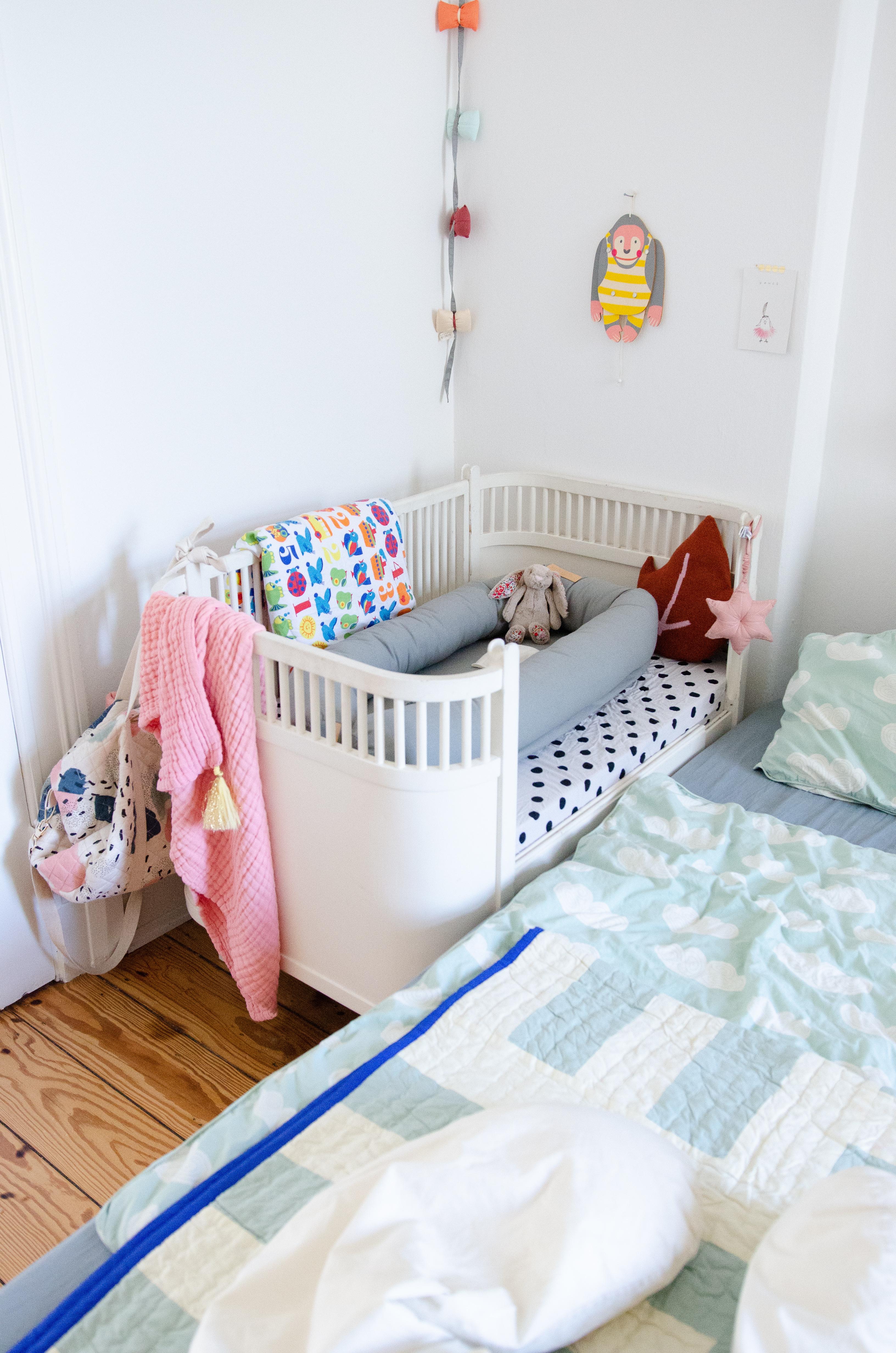 Turbo Unser Familienbett - schnell und einach aus zwei Ikea-Betten AX58