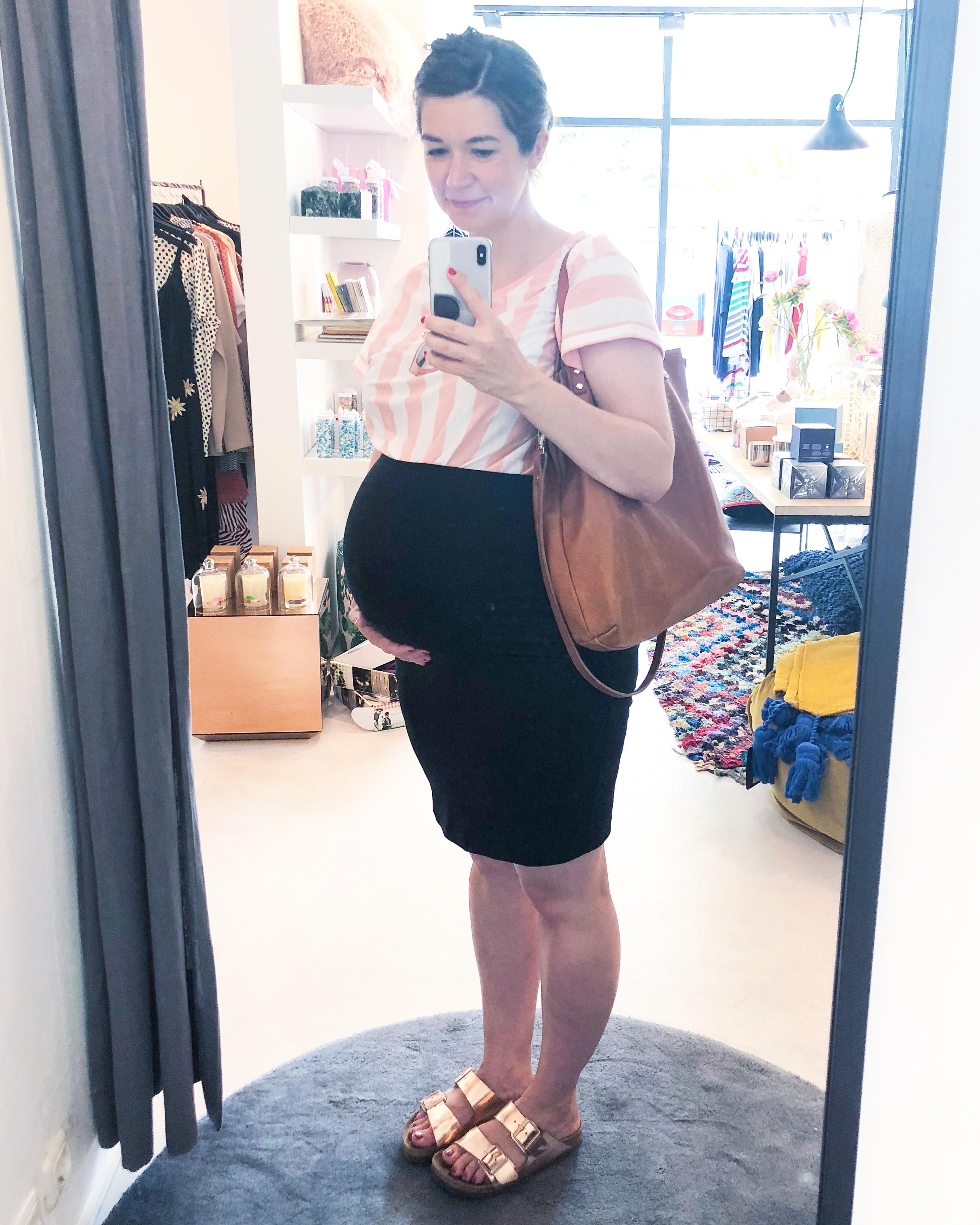 Der perfekte Rock für die Schwangerschaft