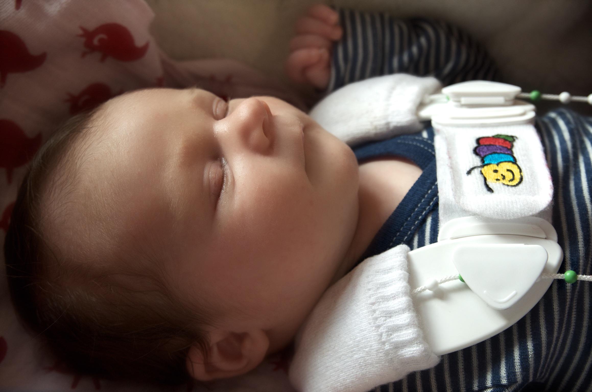 Tübinger Hüftbeugeschiene Neugeborenes #DankDir Danke Hebamme