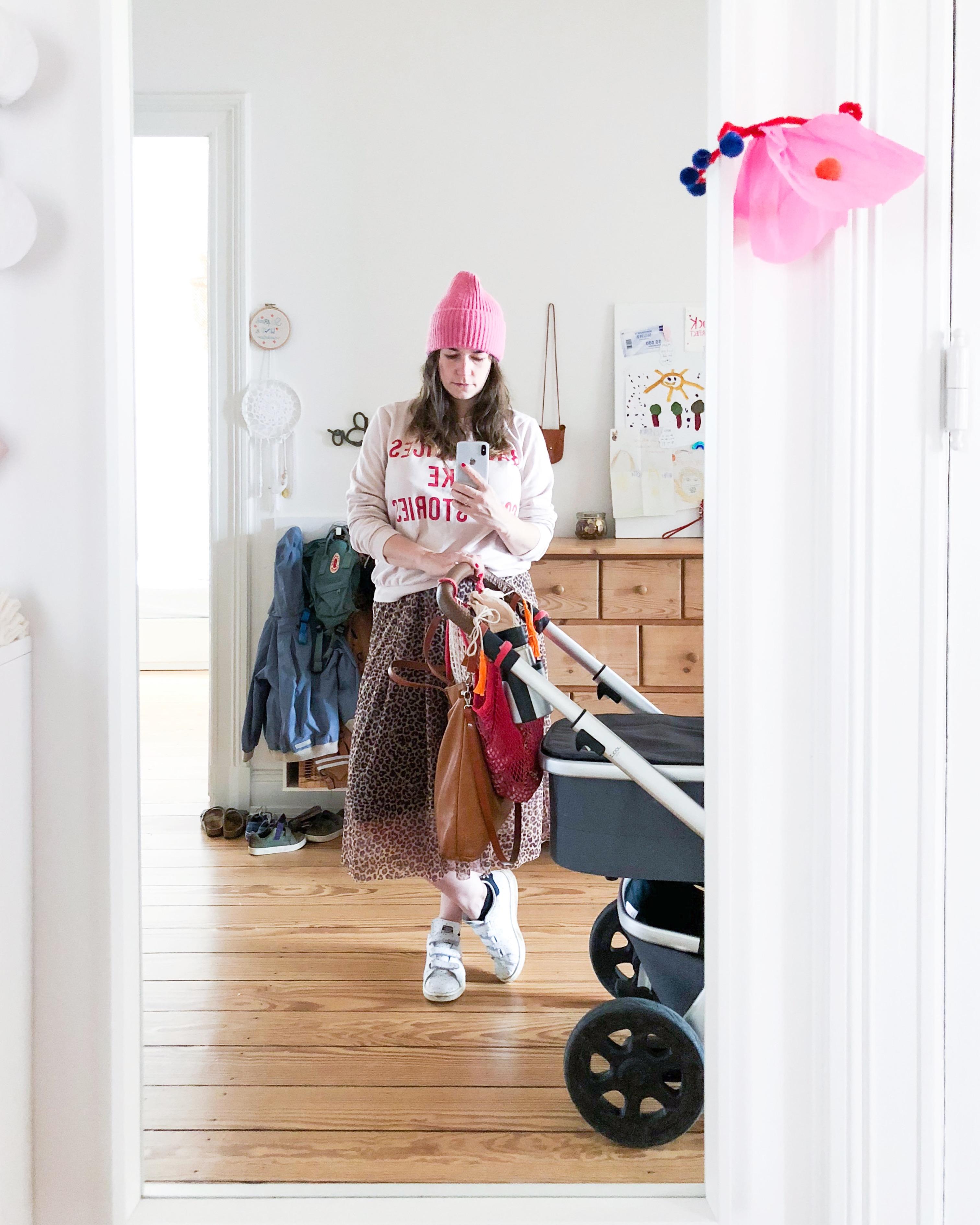 Flur Selfie Mama Outfit - Schneller und stylischer Mama Look