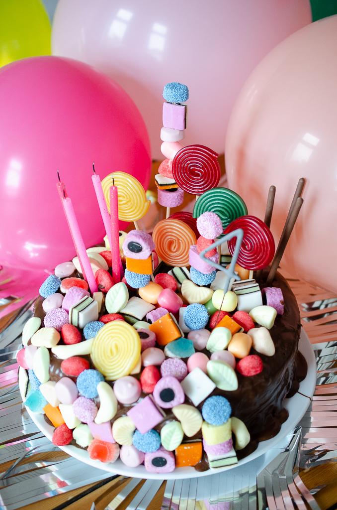 Candy Cake - schneller Geburtstagskuchen für Kinder mit WOW-Effekt