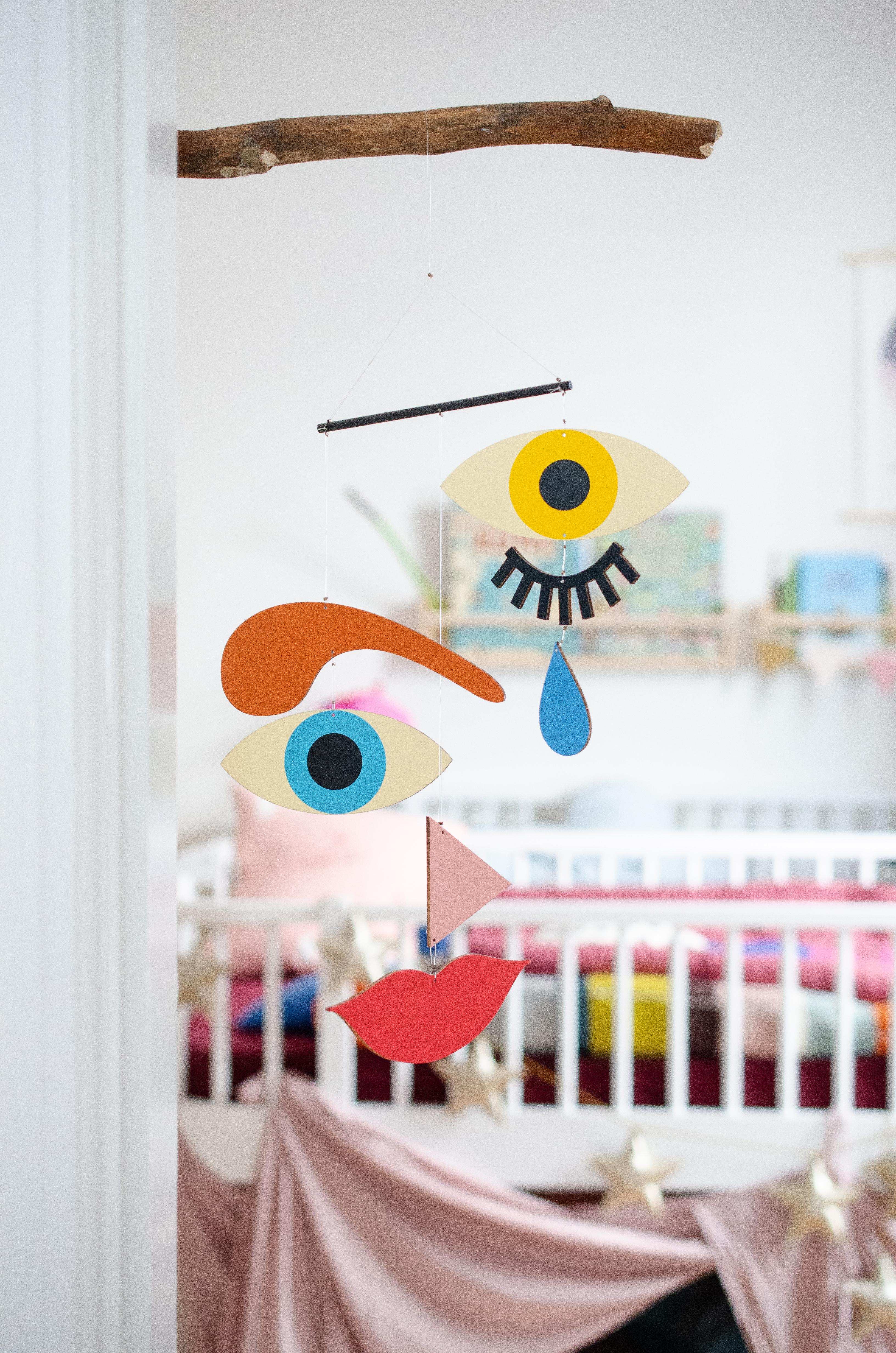 Familie als Mobilé - wenn die Geburt eines Babys erstmal alles aus dem Gleichgewicht bringt