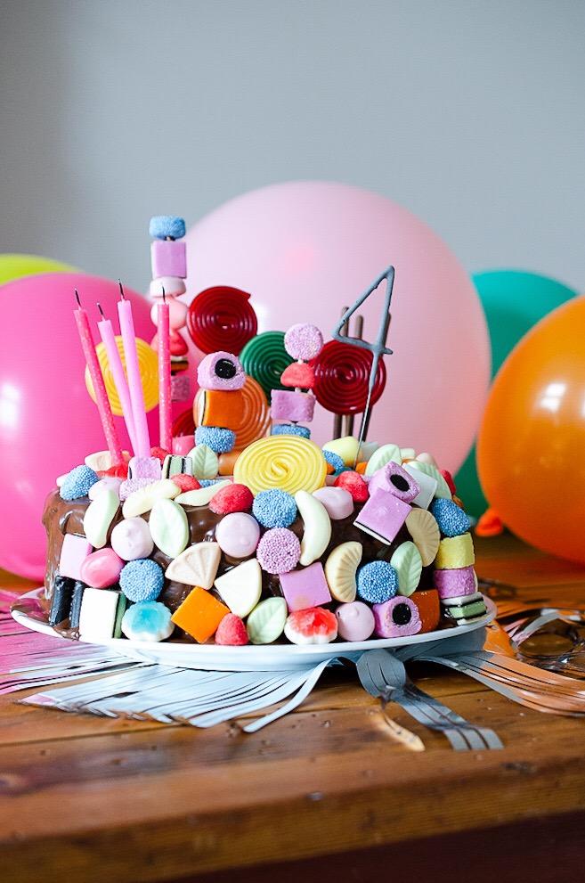 Candy Cake Schneller Geburtstagskuchen Fur Kinder Mit Wow Effekt
