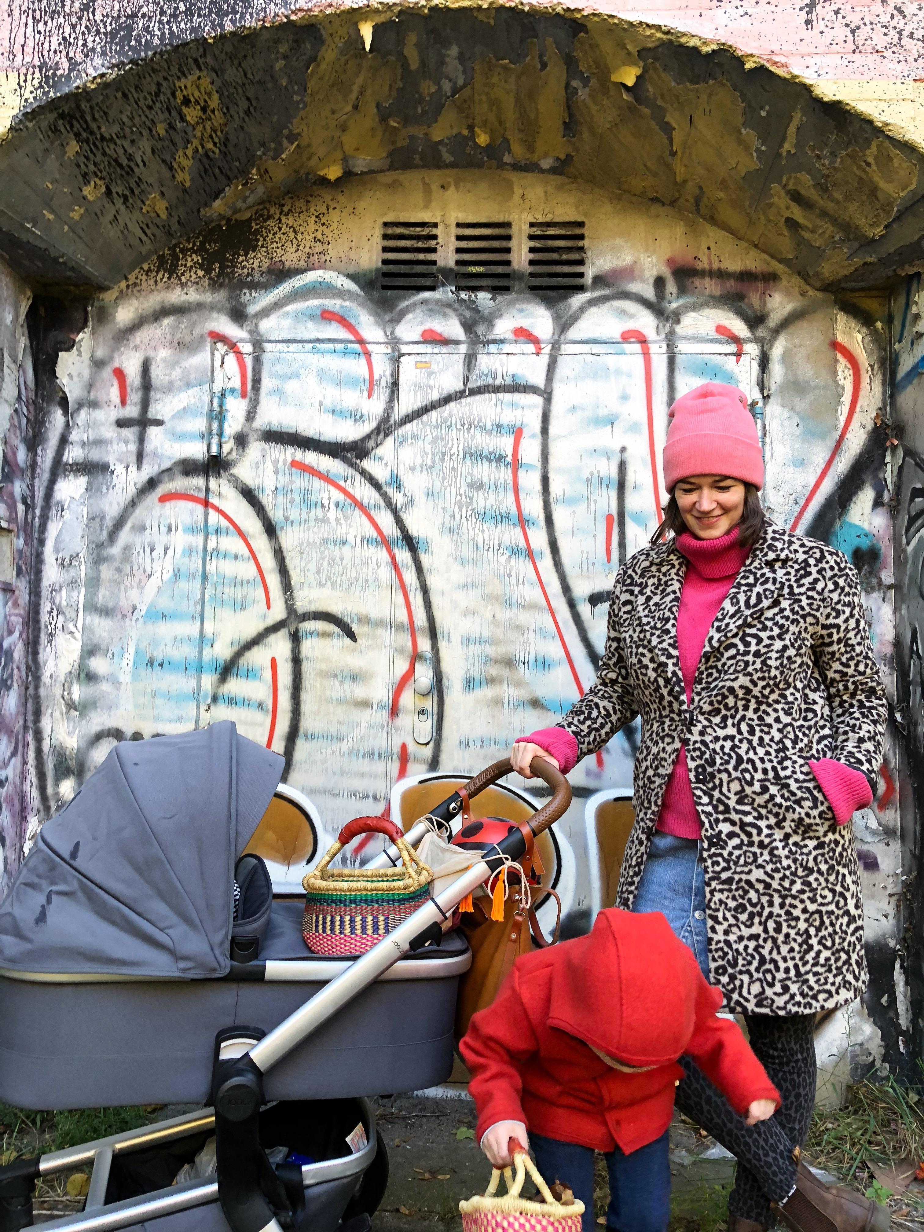 PinkepankStyle - Stillfreundliches Herbst Outfit mit Wollpullover und Leo-Mantel