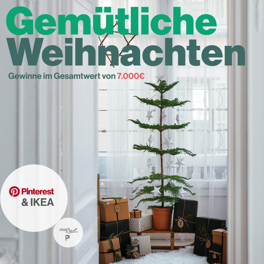 Gemütliche Weihnachten mit Ikea und Pinterest