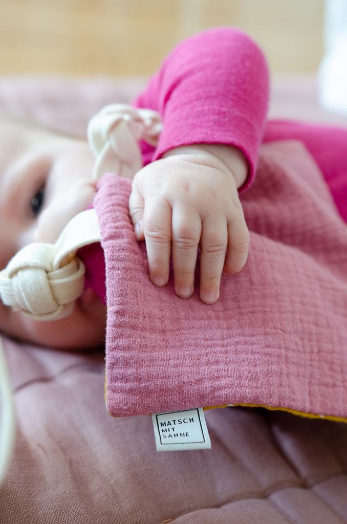Ein Sahneteil im PinkepankStyle - Knistertuch in limitierter Farbkombination