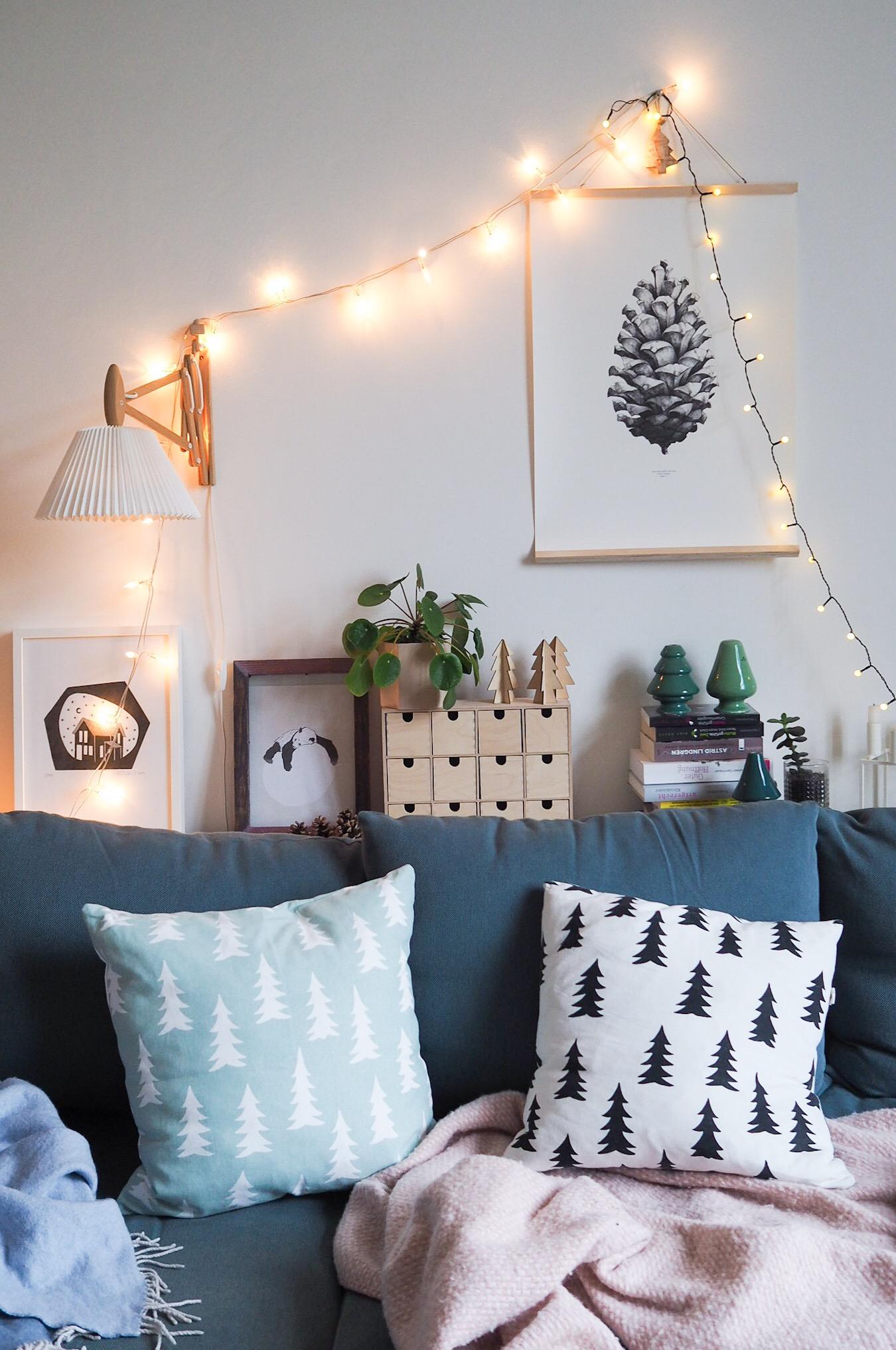 Gemütliche Weihnachten - unser Weihnachtswohnzimmer