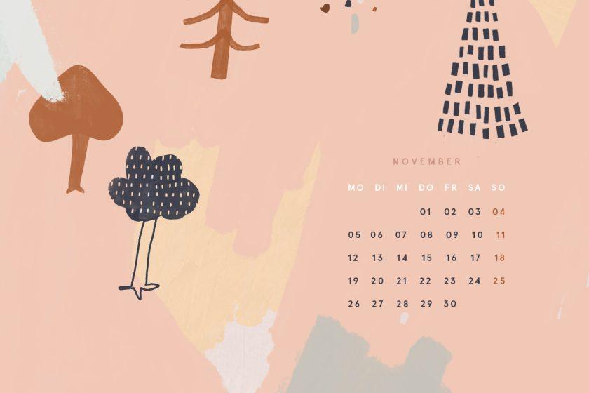 Free Desktop Wallpaper November 2018
