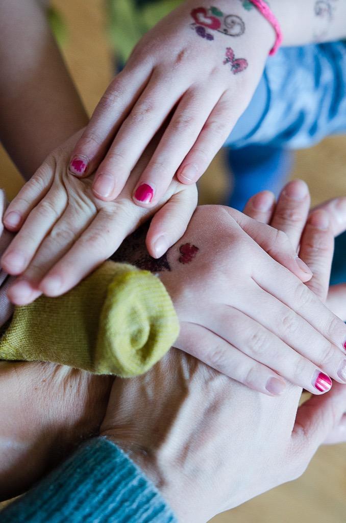 Team Pinkepank! Familie als Team - warum wir mit Teamgeist als Familie mit drei Kindern einfach besser durch den Alltag kommen