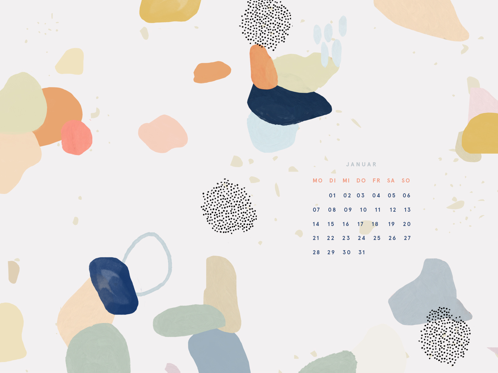 Free Desktop Wallpaper Januar 2019